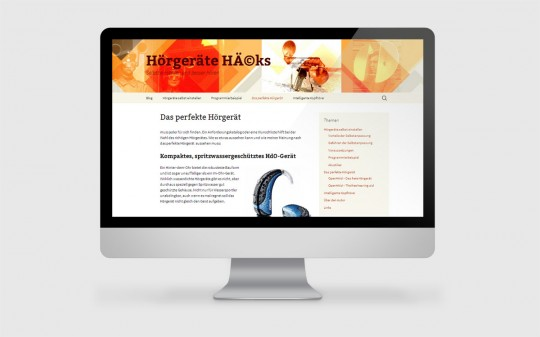 Neue Webseite Hoergeraete Hacks